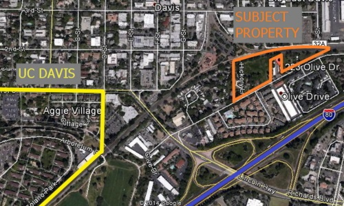 Multifamily Investment Land Davis, CA